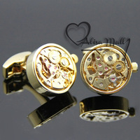 Запонки и зажимы для галстука French cufflinks male nail sleeve set male cuff shirt button 097