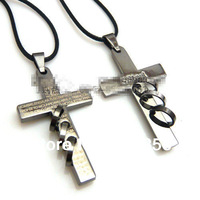 New 2014 Cross Pendant,Necklace Accessories,Jewelry Chains,The  cross necklace,12pcs/lot,QNN1027