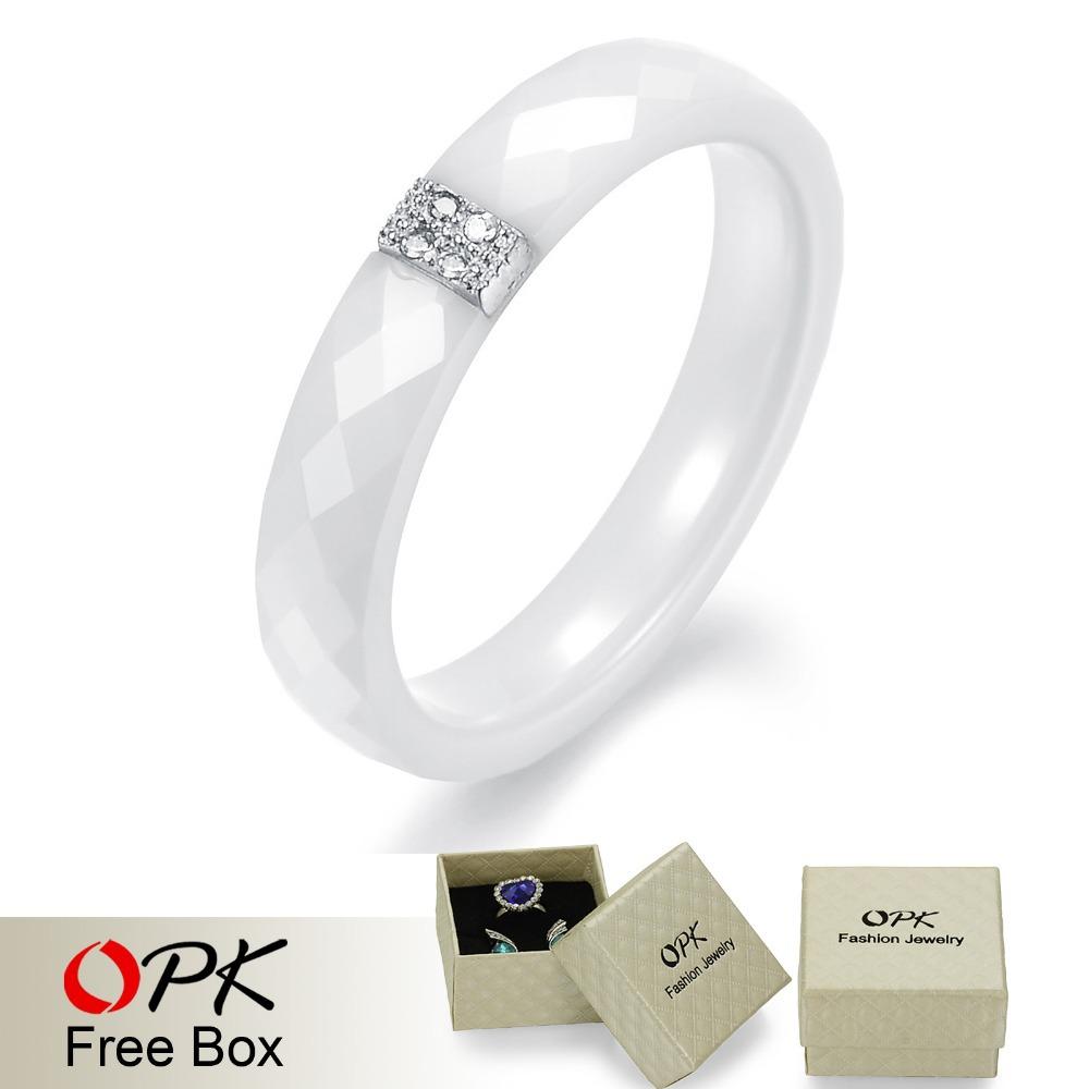 opk fashion jewelry 2015 new arrival cz diamond white