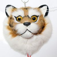 Plush toy cat wall steller's hangings single face steller's fur