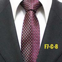 2014 New Arrival Fashion Men Popular Neckties For Man Polka Dots Business Geometric Ties For Shirt Gravatas F7-C-8