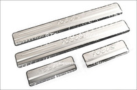 New arrival  freeshipping 2012 Ford Focus stainless steel scuff plate door sill 4pcs/lot car accessories for focus 2012