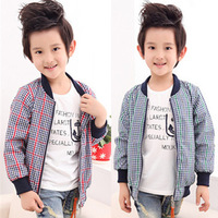 new 2014  auntumn winter children clothes child clothing baby boy outwear windproof kids tops jacket boys coat