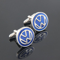 Free Shipping High Quality Brass 2013 Men Accessories Gift Car Emblem Cufflinks