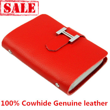100% genuine leather card case ,  Credit Card Holder c02