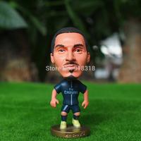 "Soccer PSG FC Ibrahimovic   2.5"" Toy Doll Figure 2014-2015 season"