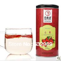 f43 Hawthorn fresh Hawthorn stem authentic Yi Futang selected herbal tea 190g/ pot appetizers flower tea green tea