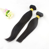 Grade 5A Unprocessed Humain Weaving Natural Straight Brazilian Virgin Hair Tangle Free for Women