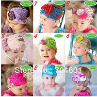 Free shipping Rhinestone feather luxury hair accessory child headbands princess accessories fashion handmade