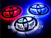 Free shipping Toyota car sticker LOGO lamp series of specialized automobile lights LED badge light stickers