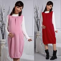 2015 Spring Autumn New Fashion Maternity Clothing for Pregnant Women Slim Casual Long Dress Gravida Sundress Vest Dress Clothes