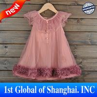 Wholesale 2013 Baby Girl Lace Dress Children Tutu Dresses Kids Summer Clothes high quality  patchwork Dress for kids 3Color