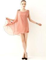 2013 New Fasion  summer sweet dress Women chiffon dress long, novelty dress M6012