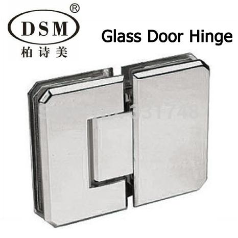 180 degree shower room pure copper glass clamp door hinge for 180 degree door