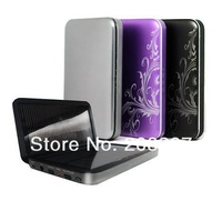 2013 Hot Saling 4200mAh Charger Portable USB Solar Power Bank Charger For Mobile Phone MP3 MP4, 10pcs/lot Free Shipping