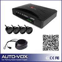 Car parking reverse backup radar system with Alarm Beeper +4 sensors (black ,white, silver)
