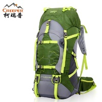 2013mountaineering bags 60L Backpack Travel Backpack Backpack professional outdoor waterproof ripstop nylon fabric free shipping
