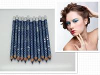 New Arrivel 12pcs Waterproof Brand  Eyeshadow Makeup Pencil Professional High Quality Beauty Glitter Eyeliner Pen with Sharpener