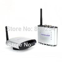 New 1pcs/lot 2.4Ghz Wireless A/V Transmitter Receiver Audio Video Share Av/Tv Pal/Ntsc Free Shipping&Dropshipping