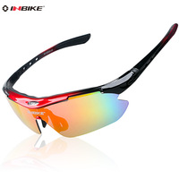 Inbike 619 riding bicycle glasses polarized  male Women outdoor sports eyewear frame myopia