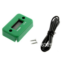 Green Color Digital Hour meter  for 2 or 4 stroke gasoline engine