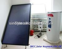 flat plate solar collector and solar water heater system (Solar Keymark,EN12975,CE,ISO,SGS,CCC,EN12976,BID,SRCC)