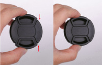 82mm Center Pinch Snap on Front Cap for Lens / Filters - Free Shipping