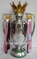 THE F.A. ENGLISH PREMIER LEAGUE CUP TROPHY MODEL REPLICA MIDDLE SIZE 30cm tall 1.2kg Free ship