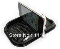 PU mobile phone holder,car anti slip mat,GPS navigation holder/Magic Sticky for Iphone MP4 MP3 free shipping