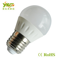 Free shipping (5pcs/lot)wholesale high lumens 3W Ceramics +PC material LED Bulb 300lm 85-265 V IP44 CW,WW,PW  Drop resistance