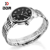 2014 DOM reloj hombre,Top luxury Brand men Business quartz watch,fashion waterproof Steel Sapphire crystal watches