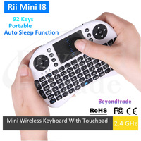 Rii Mini I8 Wireless Keyboard Specific Multi-media remote control and Touchpad Function Handheld Air Mouse