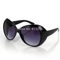 Free dropshipping New Name Brand Women's Vintage Sunglasses Over Size Designer Fashion 2014 Tops Female Coating Eyewear G4