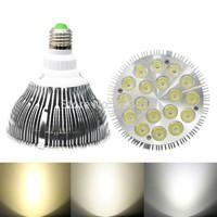 Dropship E27 18*2W PAR38 LED Bulb Lamp Light 85-256V with 18 LEDS Light Warranty 2 years CE & RoHS Par 38 LED Lamp