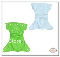 Hot Beautiful Reusable Washable Baby Cloth Nappies 1 pack Nappy Diapers 5diapers+10insert babyland diaper Free Shipping