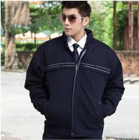 FREE SHIPPING mechanic wadded jacket tooling cotton-padded engineer jacket male office uniform 7007