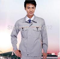 FREE SHIPPING SET OF Jacket + pants engineer uniform auto repair uniform and mechanic uniform electrician uniform