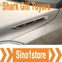 Free Shipping, 2pcs/lot Car Shark Gills Tuyeres #02 for Car Modification