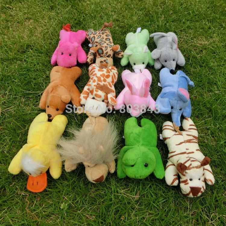 Full Set 12 Kinds of Animals Soft Plush Magnetic Toys Baby Educational Fridge Magnets Toys 12cm(China (Mainland))