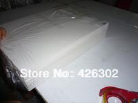 "Pack of 25  8x10 3/16"" White Foam Core Backings - Mats free shipping"