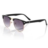 Free dropshipping Unisex New Name Brand Women's Classic Retro Sunglasses w/ Half Rim Jackets Frames & Men Glasses G78