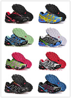 Free shipping 2013 new colour Salomon speedcross 3 men sports shoes men hiking shoes trailing running shoes size 36 - 44
