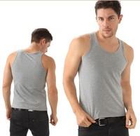 Free Shipping 92%Cotton+8% Lycra  Brand Mens Summer Vest , Men's tank tops