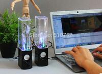 2014 USB Water Spray Mini Speaker Water Speaker Music Fountain USB Water Spray Speakers music fountain speaker 3sets/lot