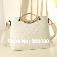 Factory Selling Special Offer Women Candy color Leather Handbags Fashion Winter Messenger Bags