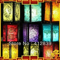 Free Shipping Nepal's national Handmade Paper Lantern Lamp Cover Unique Home Decoration Festival Decoration