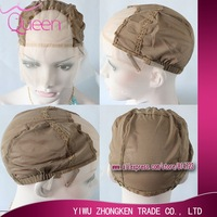 Size Large / Medium /Small Light brown Glueless Full lace wig Cap inside inner caps net sale wig making  adjustable+ combs free