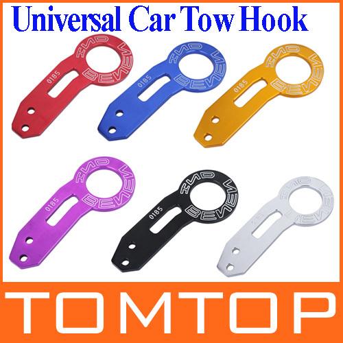 6 цветов BENEN-0185 Universal автомобиль зад жгут автоэвакуация крюк комплект для большинства автомобиль автоматический прицеп кольцо