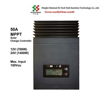 50A  MPPT Solar Charge Controller(SUN-MPPT-5015A)12VDC 700Watts,24VDC 1400Watts