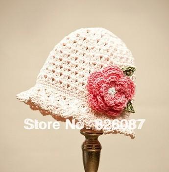 Cute Handmade Knitted Crochet Baby Girls Hat Kid Winter Warm Caps Children Toddler Hot Beanies